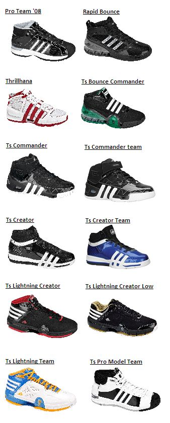 tutti i modelli adidas scarpe