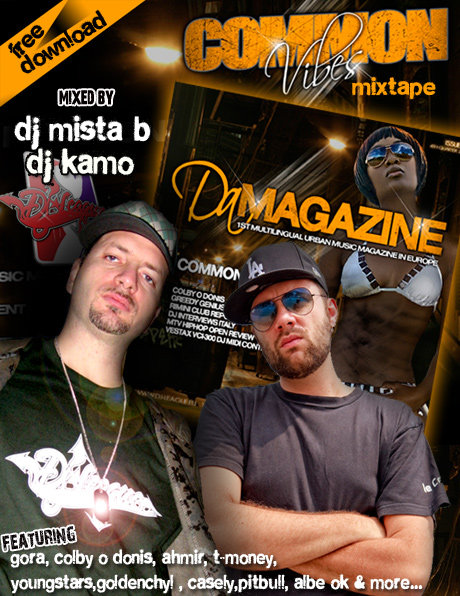 Dj-League nuovo mixtape e magazine in freedownload by Dj Mista B & Dj Kamo